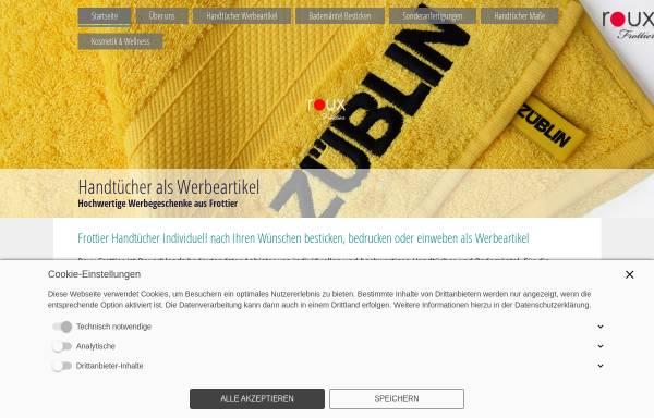 Vorschau von www.handtuch-werbeartikel.de, Sh-Ex Cltohs e.K. Inh. Tufan Celik