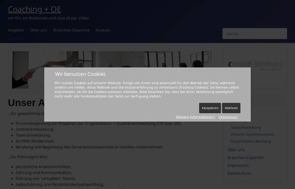 Vorschau von www.consid.org, CONSID-Beratung