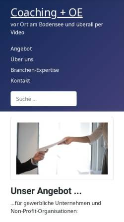 Vorschau der mobilen Webseite www.consid.org, CONSID-Beratung