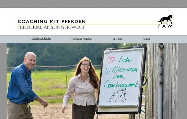 Vorschau von www.faw-coaching.de, FAW-Coaching