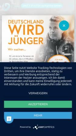 Vorschau der mobilen Webseite www.fitnessatbusiness.de, fitness@business