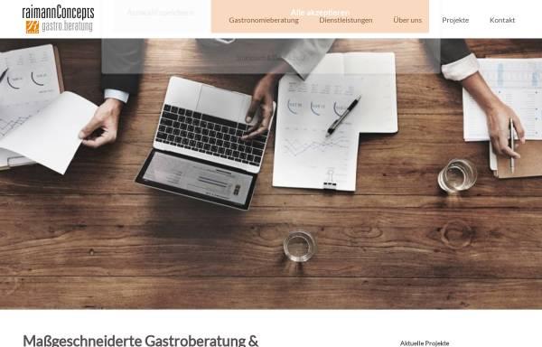 Vorschau von www.raimannconcepts.de, raimannConcepts