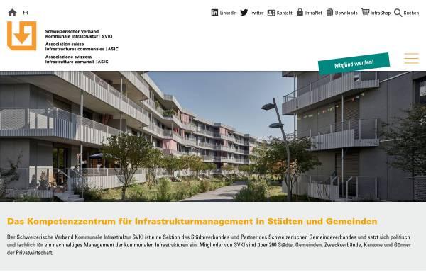 Vorschau von kommunale-infrastruktur.ch, Kommunale Infrastruktur