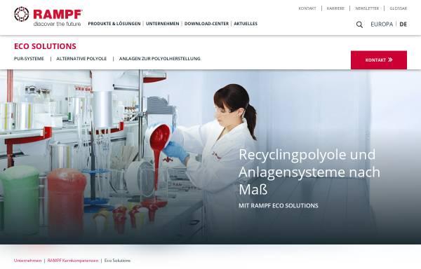 Vorschau von www.rampf-gruppe.de, Rampf Eco Solutions GmbH & Co. KG