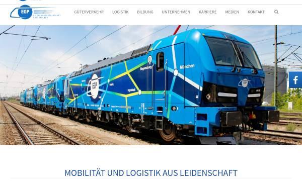 Vorschau von www.eg-potsdam.de, Eisenbahngesellschaft Potsdam mbH