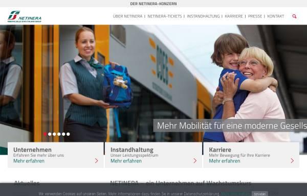 Vorschau von www.netinera.de, Netinera Deutschland GmbH