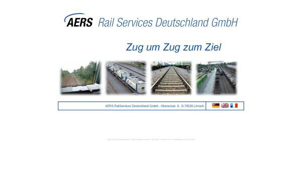Vorschau von www.aers-rail-services.de, AERS Rail Services Deutschland GmbH