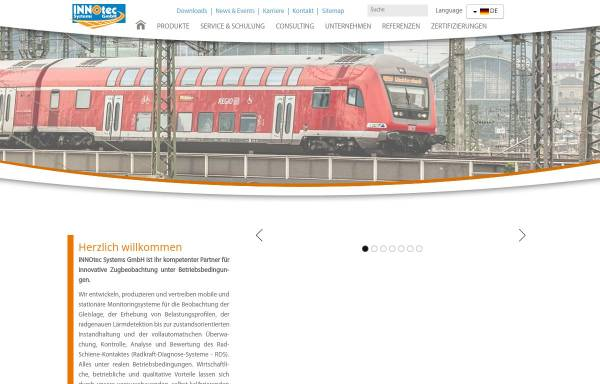 Vorschau von www.innotec-systems.de, Innotec Systems GmbH
