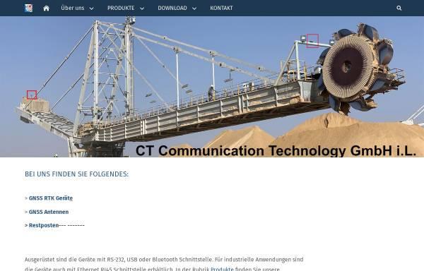 Vorschau von www.ct-gmbh.de, C T Communication Technology GmbH