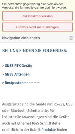 Vorschau der mobilen Webseite www.ct-gmbh.de, C T Communication Technology GmbH