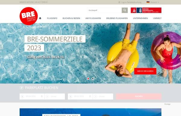 Vorschau von www.bremen-airport.com, Bremen Airport