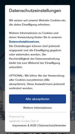 Vorschau der mobilen Webseite www.leitner-ropeways.com, Leitner AG