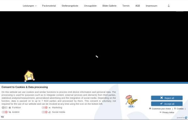 Vorschau von www.umzug-dm.de, dmhandel - Inh. Dmitry Goldreer