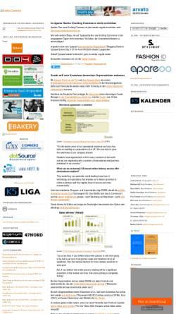 Vorschau der mobilen Webseite ecommerce.typepad.com, Exciting Commerce