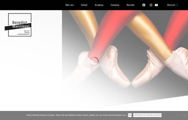 Vorschau von www.ballettschule-muenchen.de, Ballettschule Benedict-Manniegel