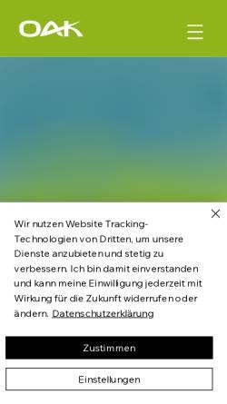 Vorschau der mobilen Webseite www.online-akademie.com, Online Akademie GmbH & Co. KG