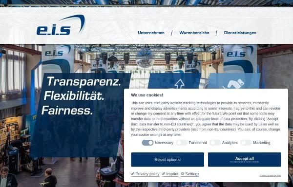 Vorschau von www.eis-verband.de, E.I.S. Beschaffungs- und Marketing GmbH & Co. KG Köln