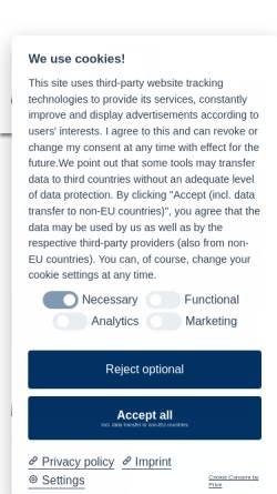 Vorschau der mobilen Webseite www.eis-verband.de, E.I.S. Beschaffungs- und Marketing GmbH & Co. KG Köln