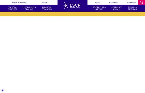 Vorschau von www.escpeurope.eu, ESCP Europe Berlin