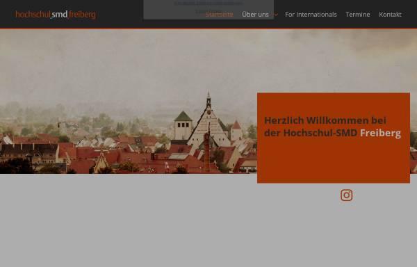 Vorschau von www.smd-freiberg.de, Hochschul-SMD Freiberg