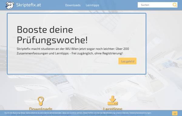 Vorschau von www.skriptefix.at, Skriptefix.at