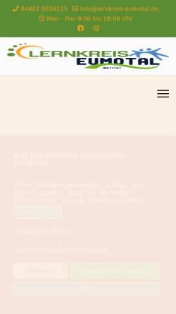 Vorschau der mobilen Webseite www.lernkreis-sattel.de, Lernkreis Sattel