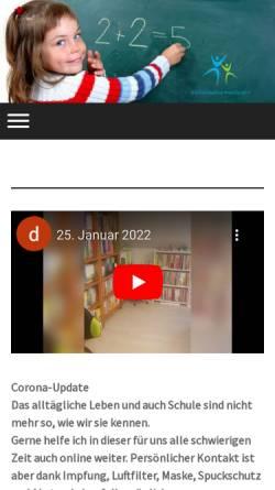 Vorschau der mobilen Webseite www.schuelercoaching-wachtendorf.de, Schülercoaching Wachtendorf
