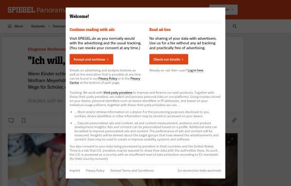 Vorschau von www.spiegel.de, Wernicke, Jens