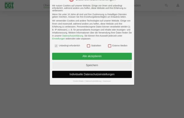Vorschau von dgi-info.de, Deutsche Gesellschaft für Information und Wissen e.V.