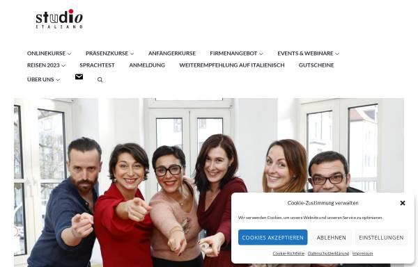 Vorschau von www.studio-italiano.de, Studio Italiano