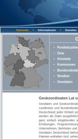 Vorschau der mobilen Webseite www.geolex.de, Geolex- Geodaten Deutschland