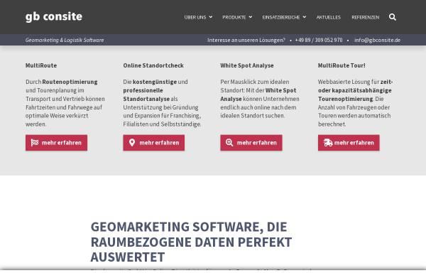 Vorschau von www.gbconsite.de, Gb consite GmbH