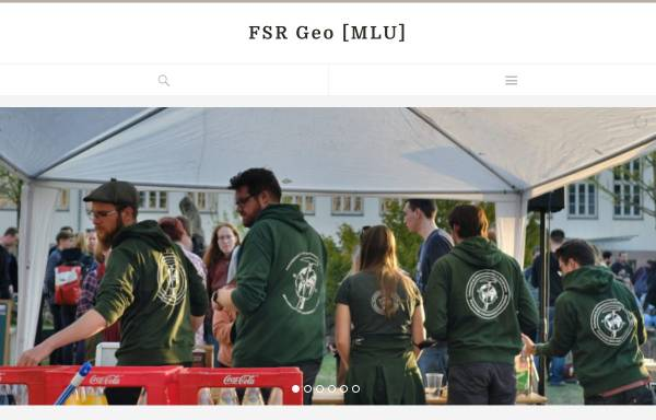 Vorschau von fsr.geo.uni-halle.de, Fachschaftsrat Geo der Uni Halle
