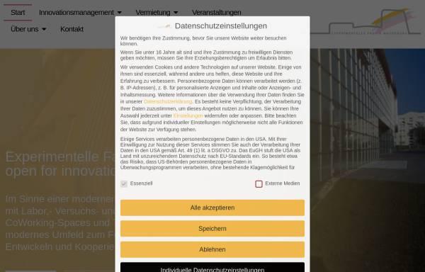 Vorschau von www.exfa.de, Experimentelle Fabrik Magdeburg