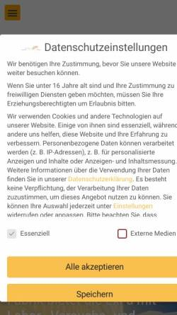 Vorschau der mobilen Webseite www.exfa.de, Experimentelle Fabrik Magdeburg
