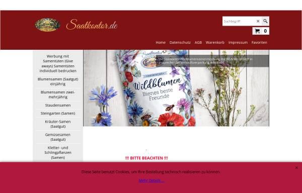 Vorschau von www.saatkontor.de, Saatkontor Ole Schoener
