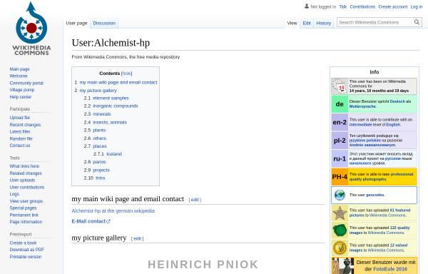 Vorschau von www.pse-mendelejew.de, Periodensystem der Elemente