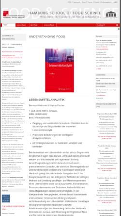 Vorschau der mobilen Webseite www.hsfs.org, Hamburg School of Food Science an der Universität Hamburg