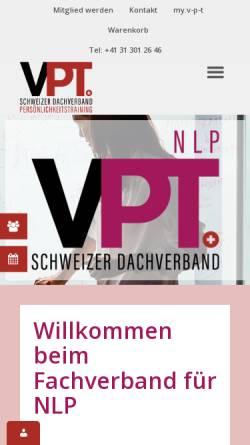 Vorschau der mobilen Webseite swissnlp.ch, SWISS NLP