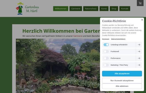 Vorschau von www.ihrgartenbau-haertl.de, Gartenbau Härtl