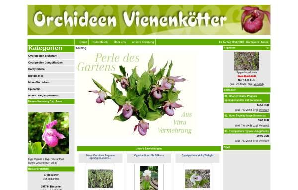 Vorschau von www.orchideen-vienenkoetter.de, Orchideen Vienenkötter