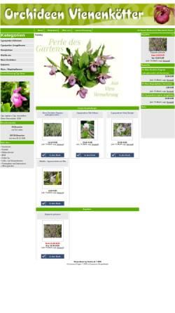 Vorschau der mobilen Webseite www.orchideen-vienenkoetter.de, Orchideen Vienenkötter