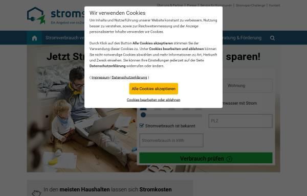 Vorschau von www.die-stromsparinitiative.de, Die Stromsparinitiative des Bundesumweltministeriums