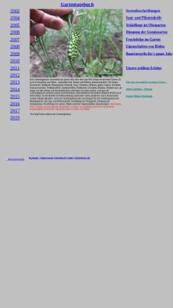 Vorschau der mobilen Webseite www.uwe-braunsdorf.de, Gartentagebuch