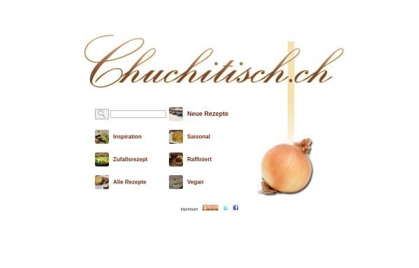 Vorschau von www.chuchitisch.ch, Chuchitisch.ch