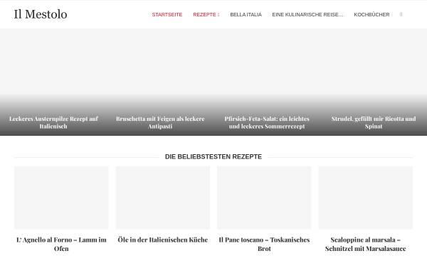 Vorschau von www.mestolo.de, Il Mestolo