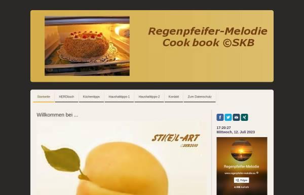 Vorschau von sti-e-l-art-by-skb.jimdo.com, Regenpfeifer-Melodie Cook Book