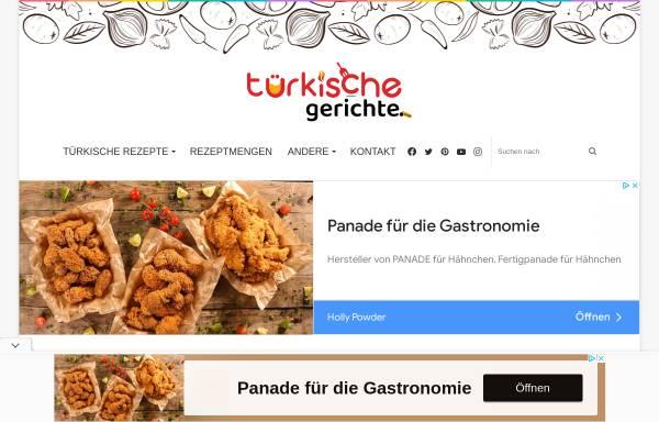 Vorschau von www.turkischegerichte.com, Türkische Gerichte