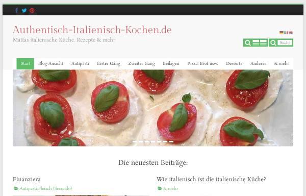 Vorschau von italienisch-kochen.blog, Italienisch-kochen.blog/