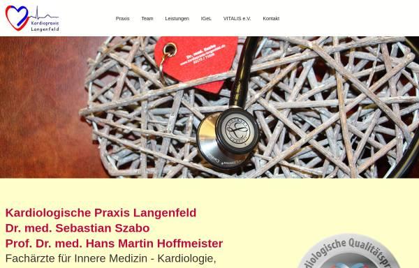 Vorschau von www.kardiopraxis-langenfeld.de, Kardiologische Praxis Dr. Szabo Langenfeld